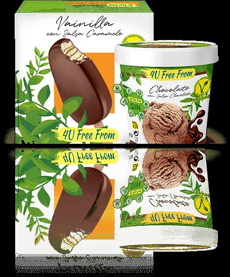 Multipacks helados veganos