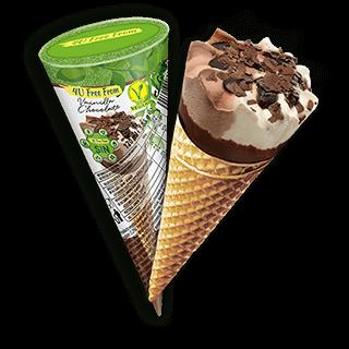 Vanilla Chocolate Cone